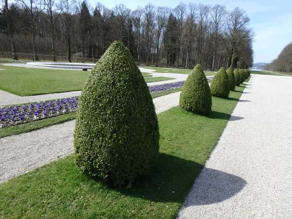 Herrenchiemsee Gartenanlagen