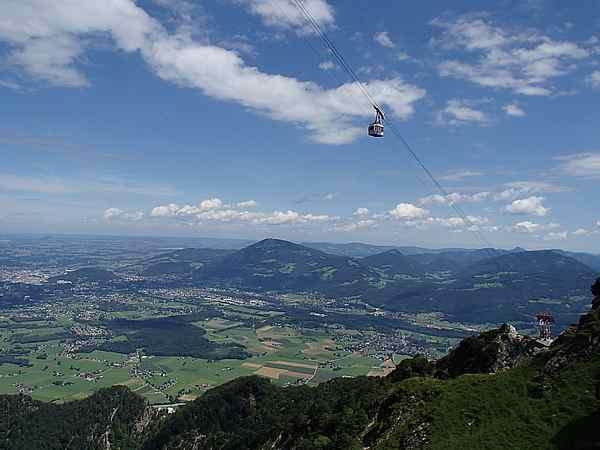 Aussicht auf die Stadt Salzburg