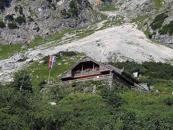 Die Hütte zur Einkehr