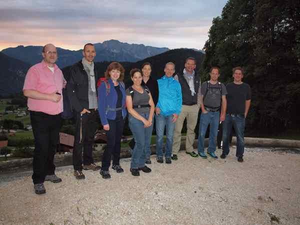 Hüttenwanderung Teambuilding
