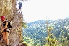 Klettersteig Entscheidungen fällen