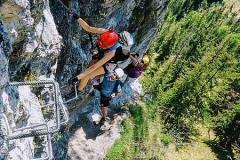 Klettersteig Ängste überwinden