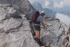 Watzmann Weg zur Mittelspitze