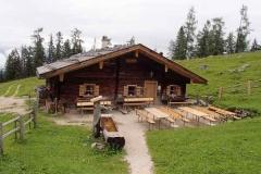 Watzmann zum Gipfelkreuz Mitterkaser