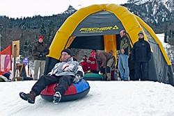 Firmenwettkampf im Winter