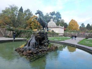 Pegasus-Brunnen in Salzburg