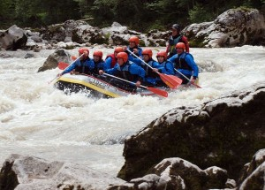 Wildwasserrafting als Outdoor Training