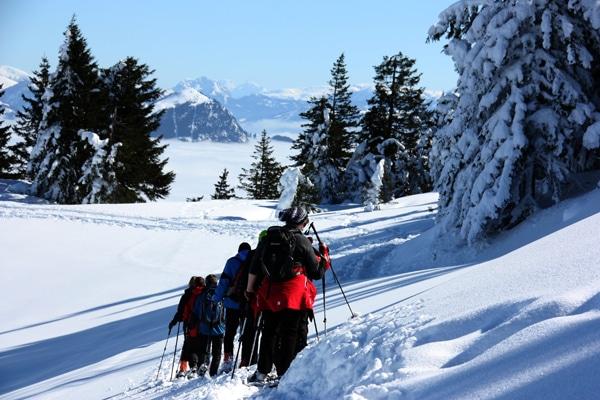 Geführte Schneeschuhtouren