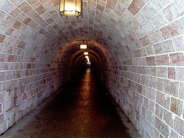 Der Tunnel zum Kehlsteinlift