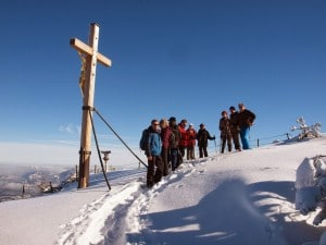 Outdoorerlebnisse wie Schneeschuhwandern in Berchtesgaden