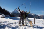 Schneeschuhwandern in Berchtesgaden