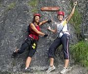 Klettersteigtraining