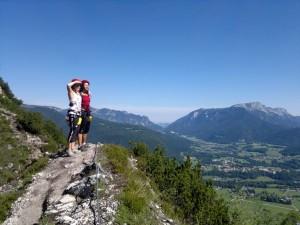 Kletterersteigtraining und Sicherheitsforschung