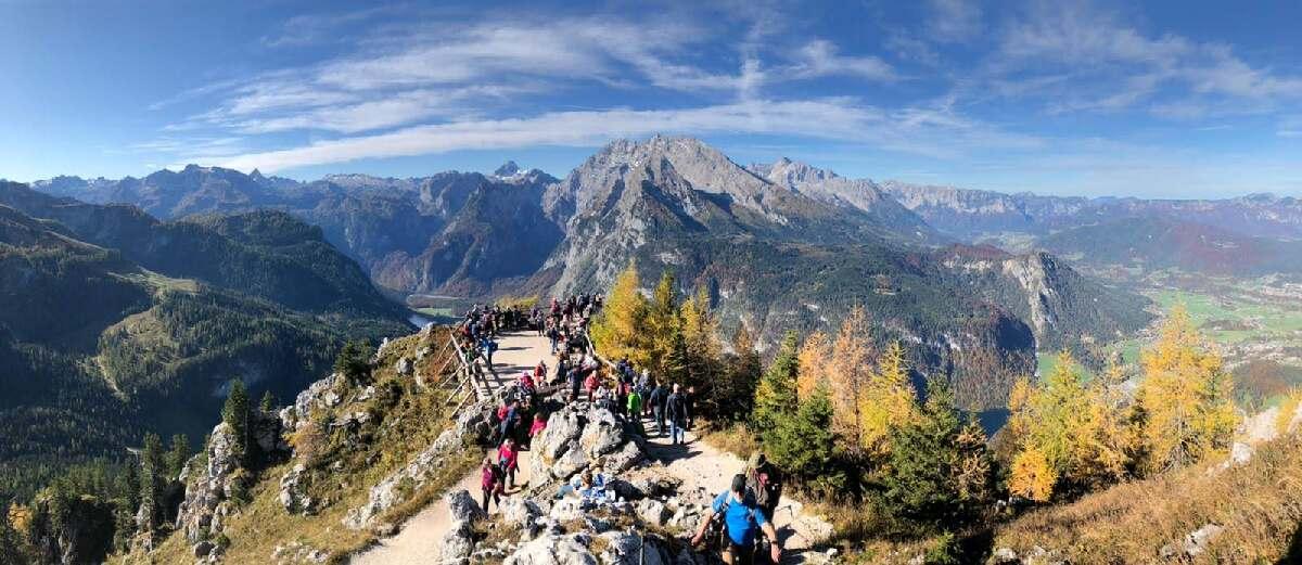 Hüttenwanderungen zum Teambuilding jenner-aussichtskanzel-2019-IMG-20191018-WA0013-3