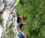 Klettersteig Training