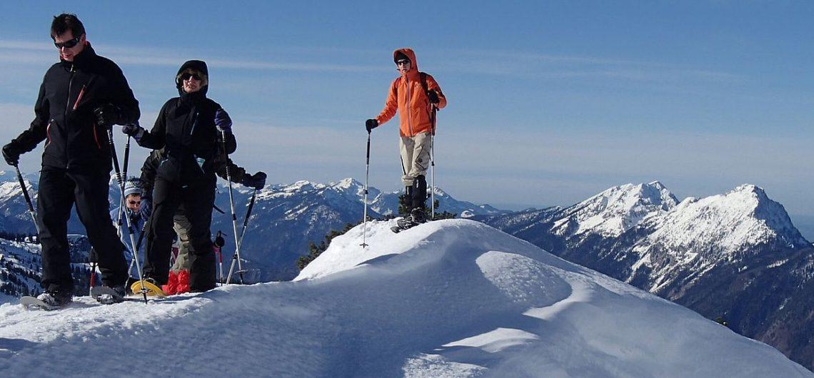 Schneeschuhwandern, Schneeschuhtouren Berchtesgaden