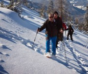 Schneeschuhwandern Betriebsausflug, Team-Event, Teambuilding.