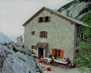 Teamwanderung zur Blaueishütte, Hüttenübernachtung in den Berchtesgadener Alpen