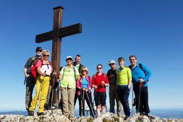 Team-Klausur auf einer Berghütte