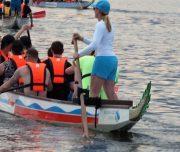 Drachenboot am Chiemsee
