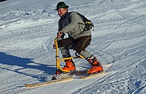 Snowbike
