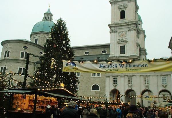 Weihnachtsfeiern Salzburg Christkindlmarkt