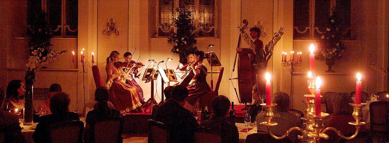 Mozart Dinner in Salzburg für Betriebsausflüge