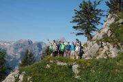 Teamklausur auf einer Berghütte