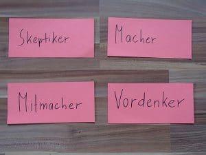 Moderation von Teamprozessen. Zusammensetzung von Teams. Teamklausuren und Tagungen