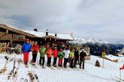 Skifahren als Betriebausflug