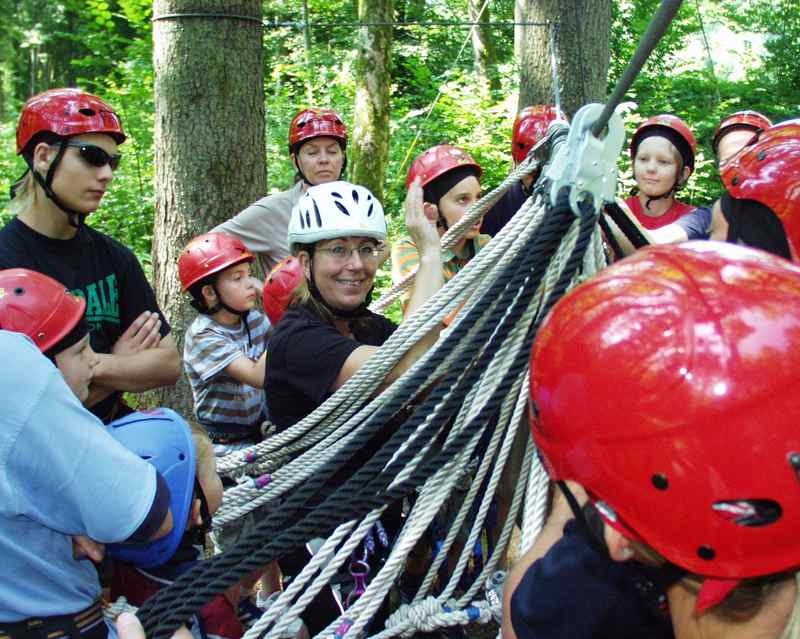 Teamparcours, Teambuilding