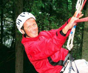 Teambuilding und Events im Waldseilgarten.
