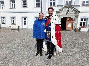 Firmenevent Ideen. Herrenchiemsee und König Ludwig mit Claudia