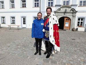 Betriebsausflug Chiemsee, Herrenchiemsee und König Ludwig mit Claudia