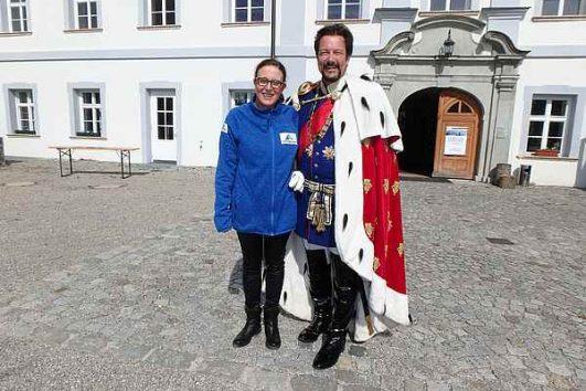 Herrenchiemsee und König Ludwig mit Claudia