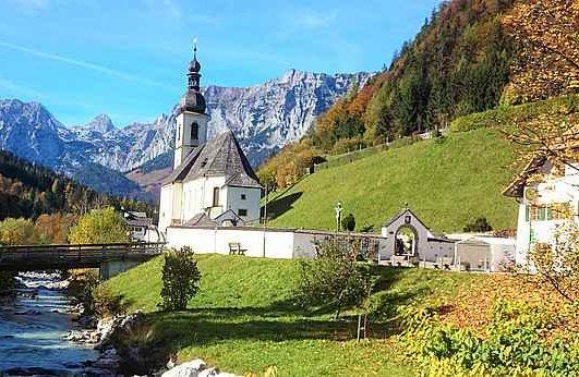 Brechtesgaden Kirche Ramsau