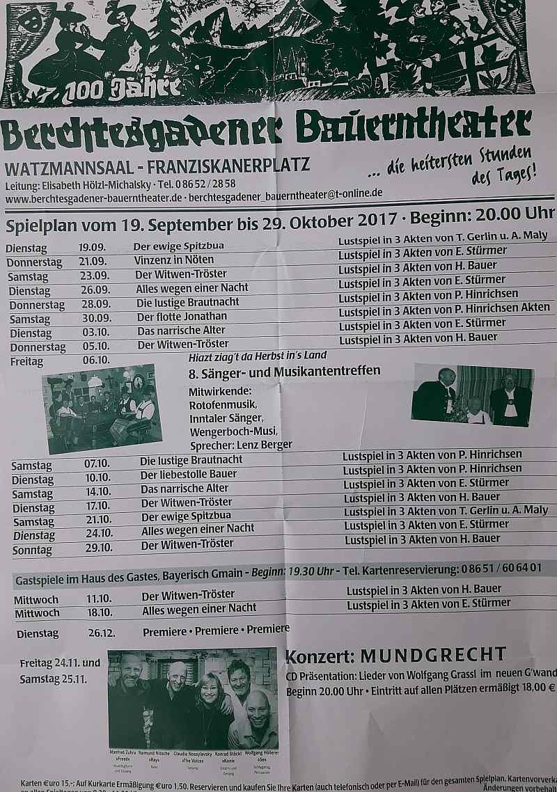 Berchtesgadener Bauerntheater