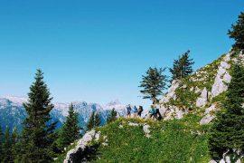 Hüttenwandern für Teams in Berchtesgaden, Chiemgau und in Lengriess