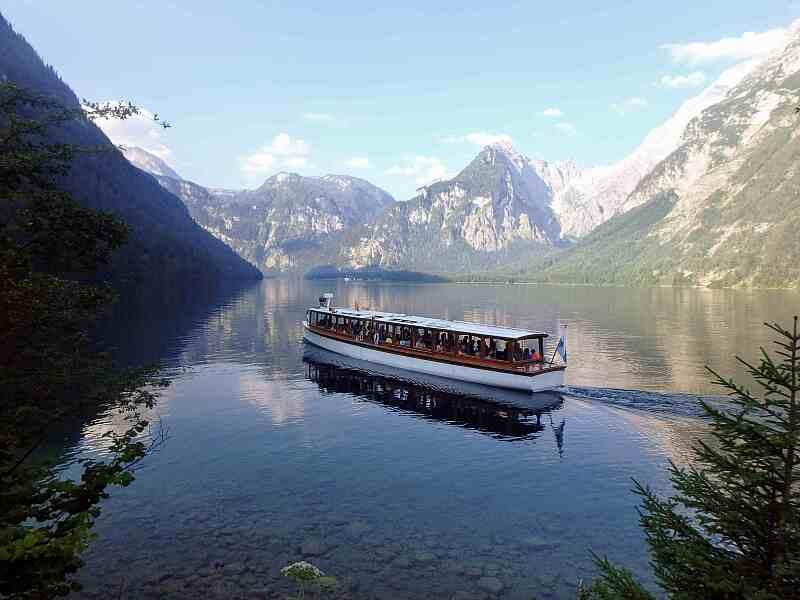 Der Königssee als Betriebsausflug