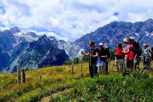 Hüttenwanderung Alpennationalpark als Teamevent