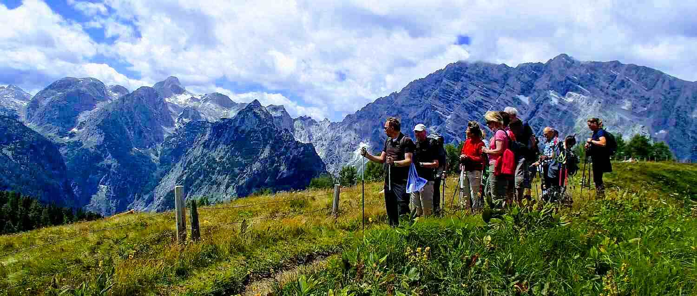 Hüttenwanderung Alpennationalpark als Teamevent oder Firmenausflüge