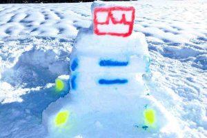 Teambuilding Event Schneeskulpturen bauen