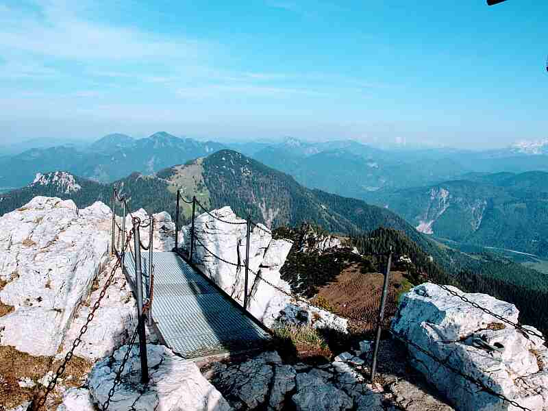 Kampenwand Gipfelbrücke