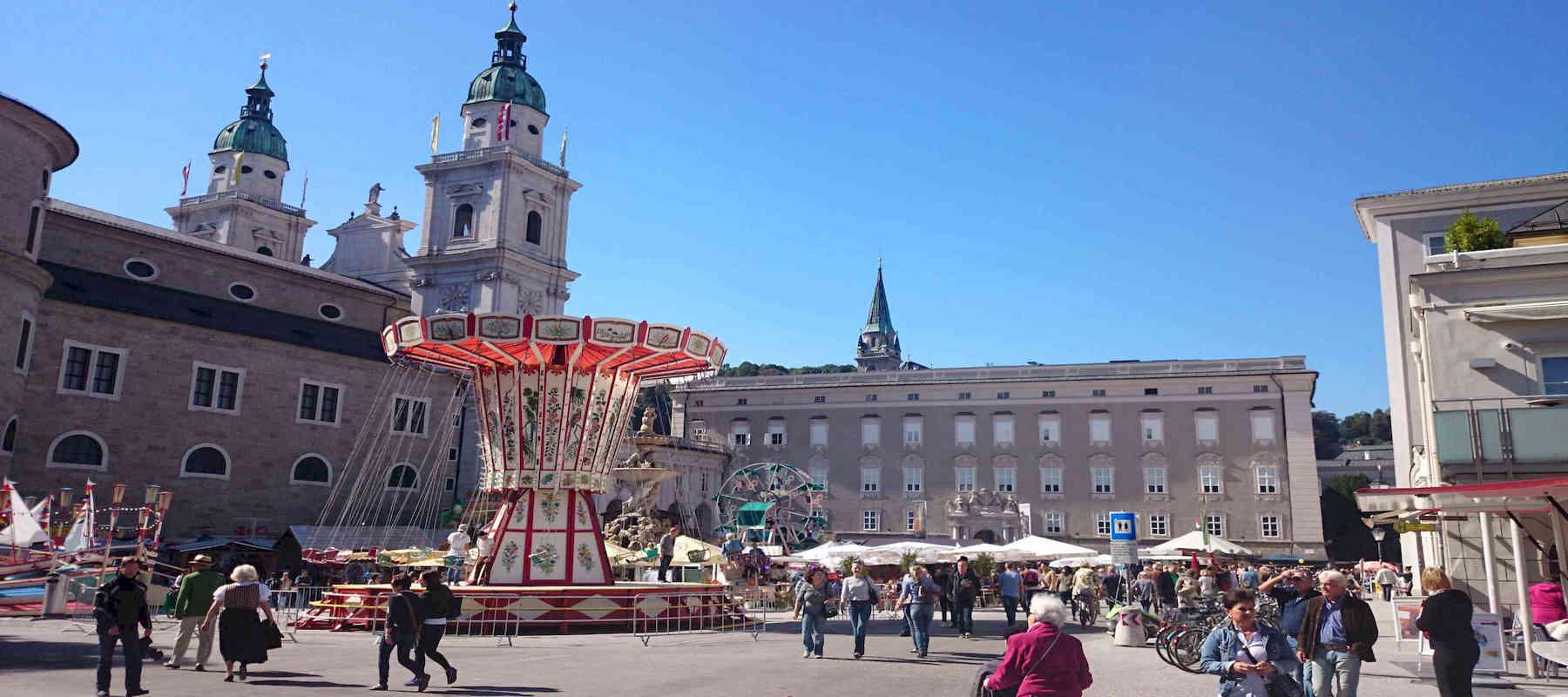 Digitale Stadtführung und Teamralley als mobile Game in Salzburg