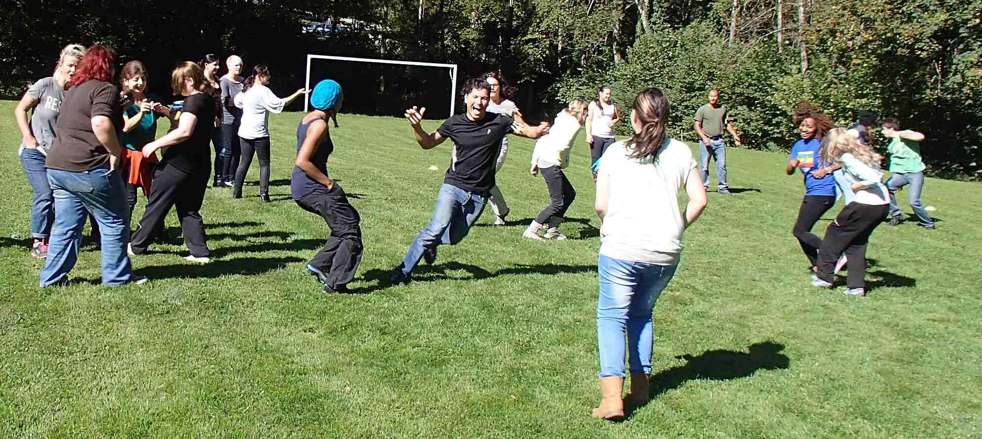 An diesem Outdoor-Teamtag können alle Ausbildungsjahrgänge gemeinsam teilnehmen.