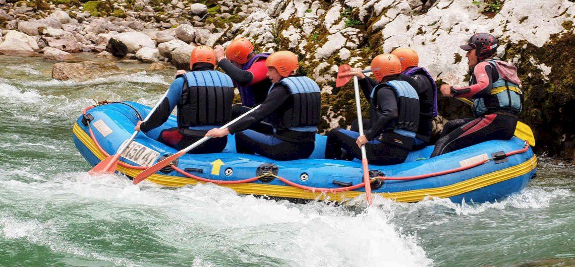 Rafting mit Profis als Teamevent
